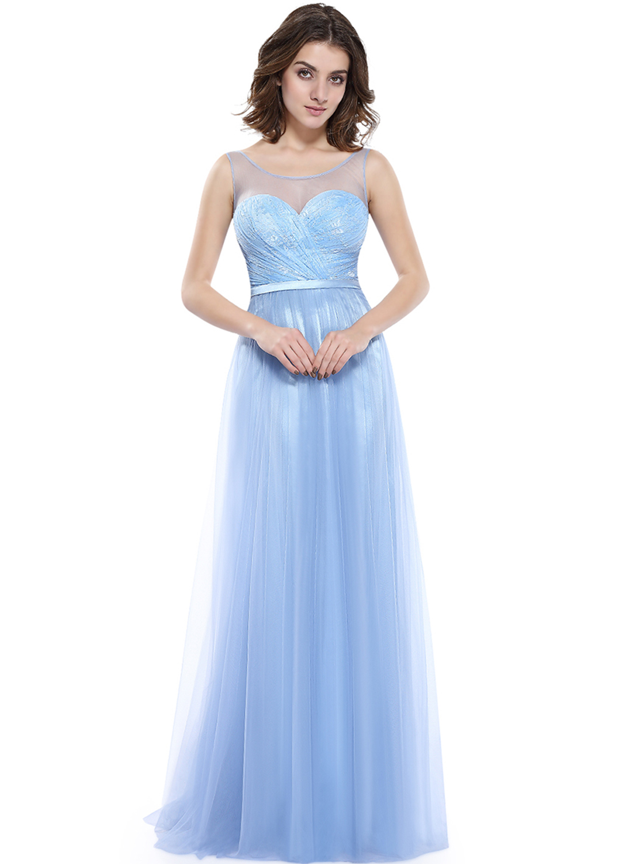 elegant dresses for wedding party photo - 1