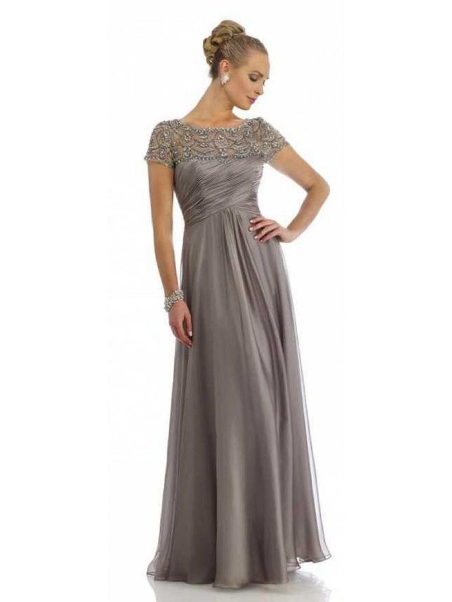 elegant mother of the groom dresses photo - 1