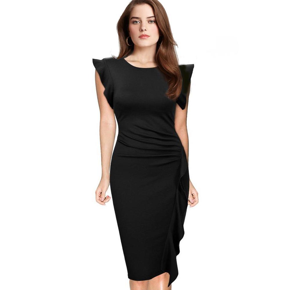 elegant pencil dresses photo - 1