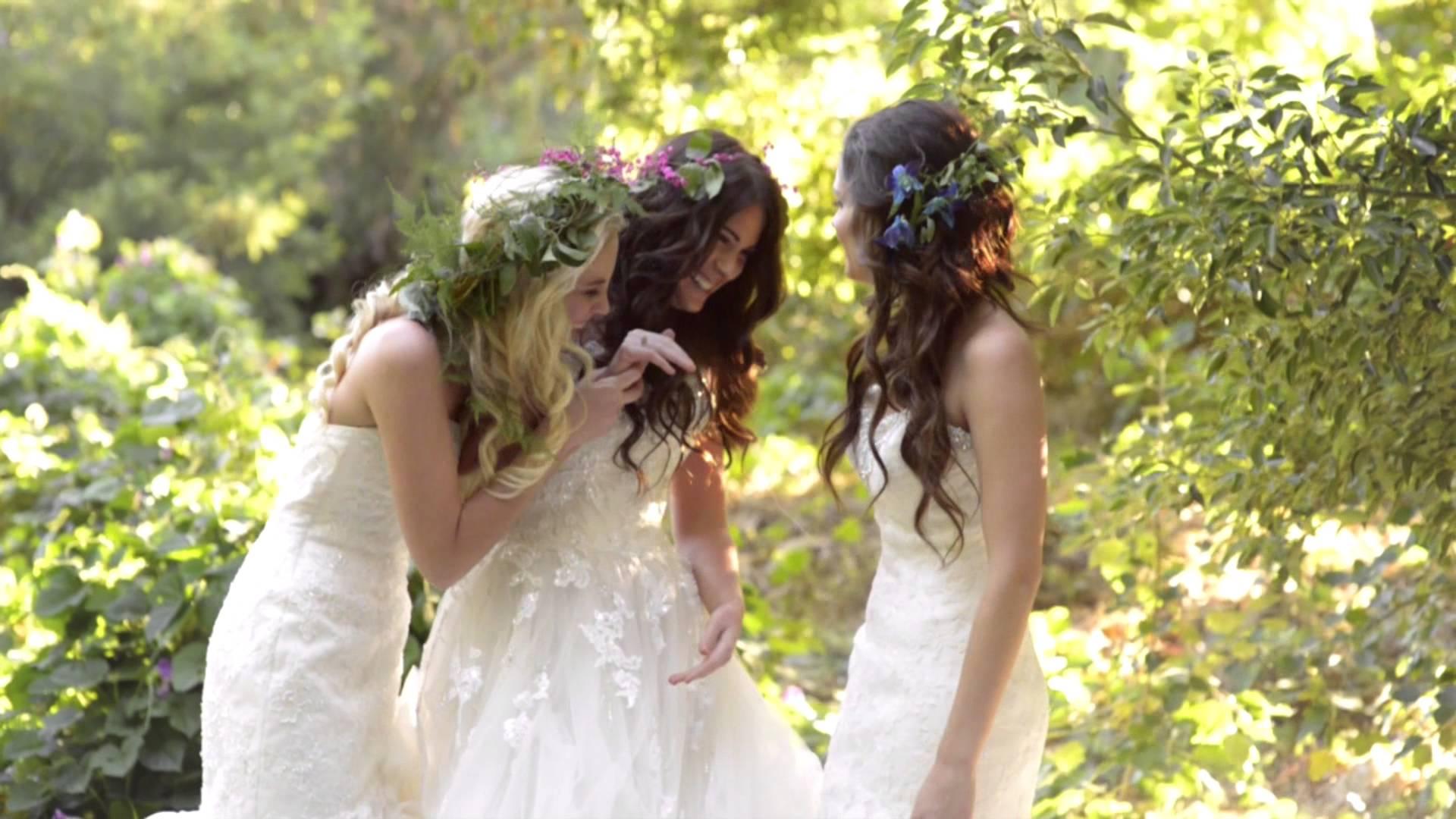 enchanted wedding dresses photo - 1