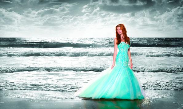fairy like wedding dresses photo - 1