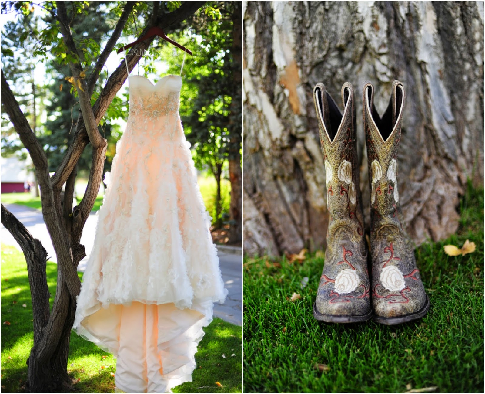 fall country wedding dresses photo - 1