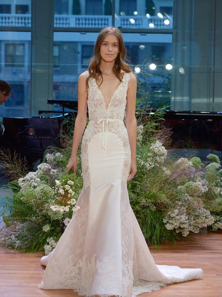 fall lace wedding dresses photo - 1