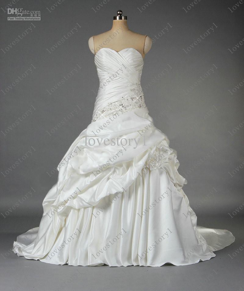 fancy dresses for wedding photo - 1