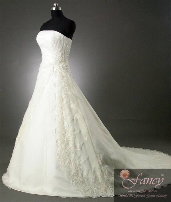 fancy wedding dresses photo - 1