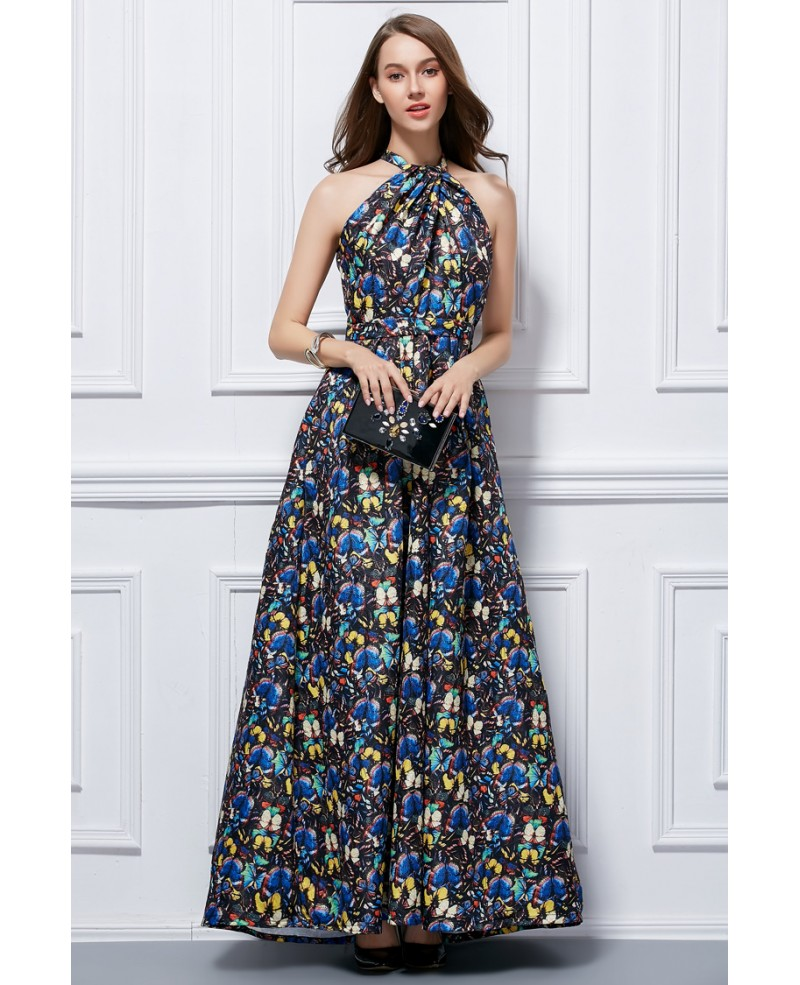 floral dresses for wedding guests photo - 1