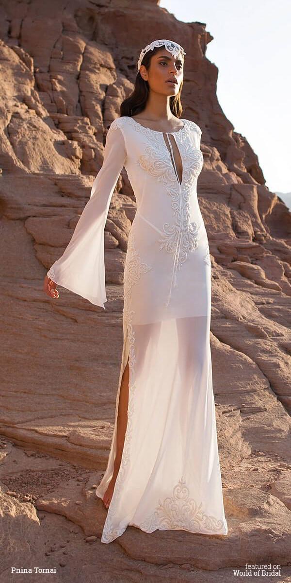 flowing wedding dresses photo - 1