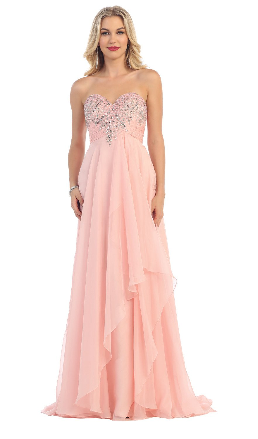 formal dresses for wedding guest plus size photo - 1