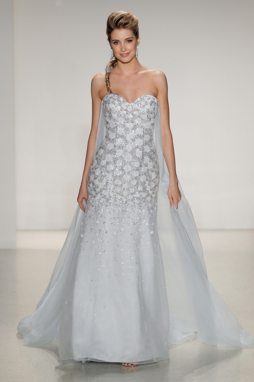 frozen inspired wedding dresses photo - 1