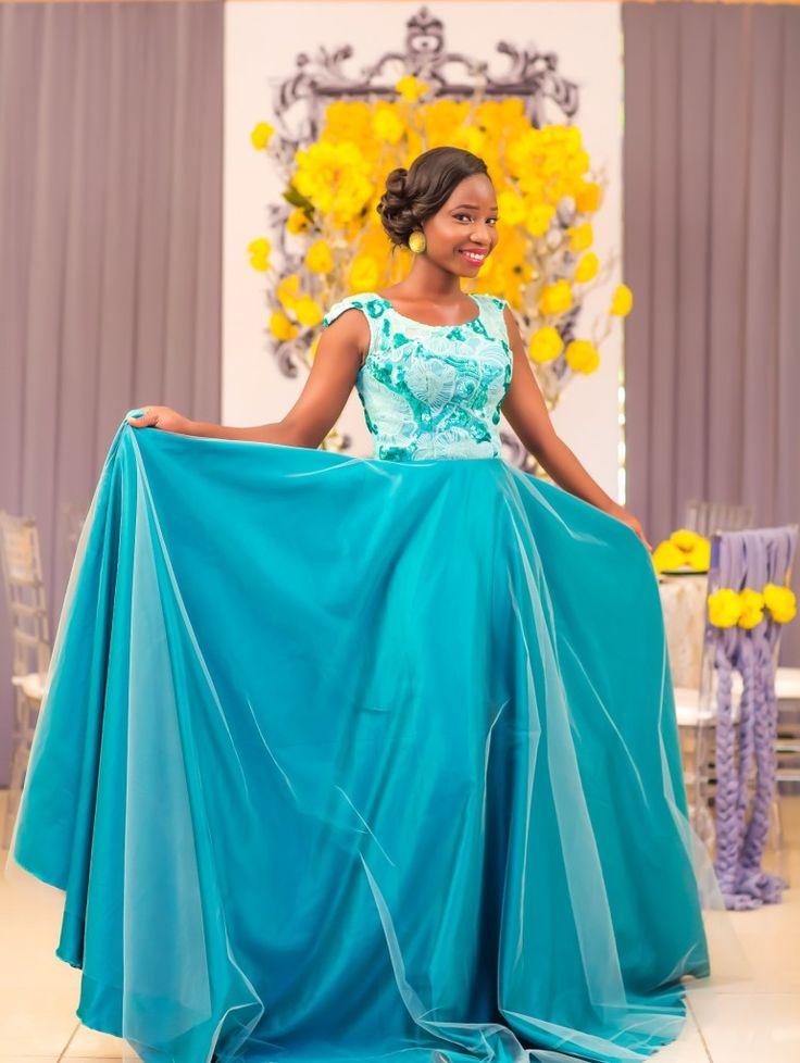 ghanaian wedding dresses photo - 1