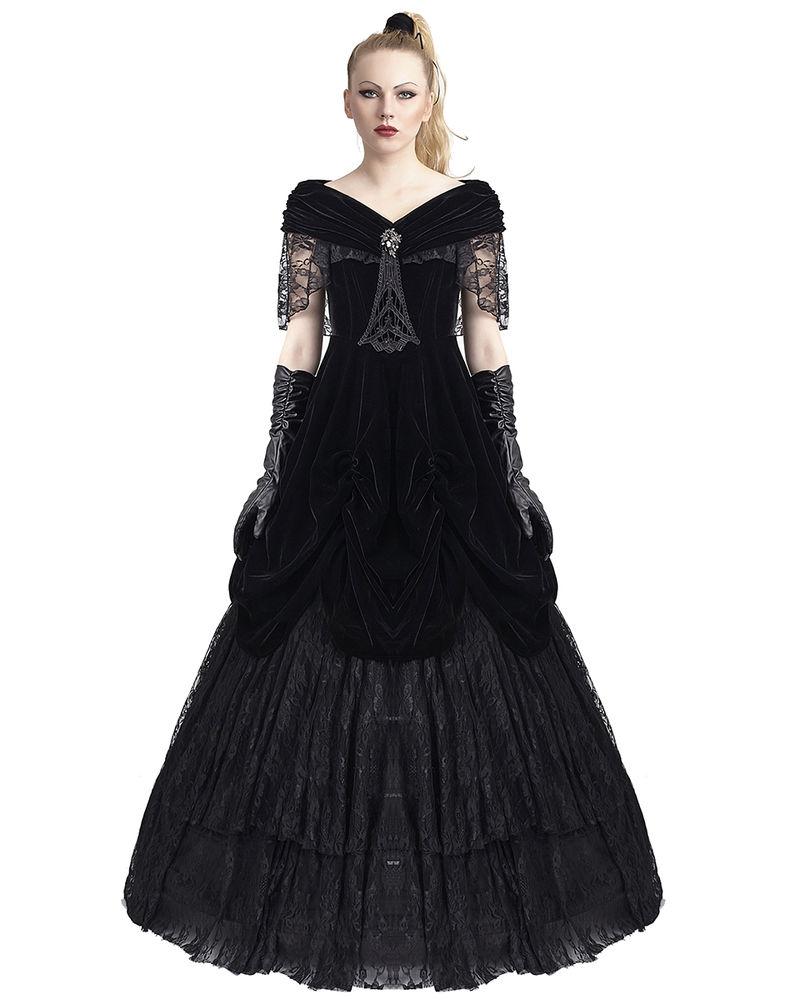 gothic victorian wedding dresses photo - 1