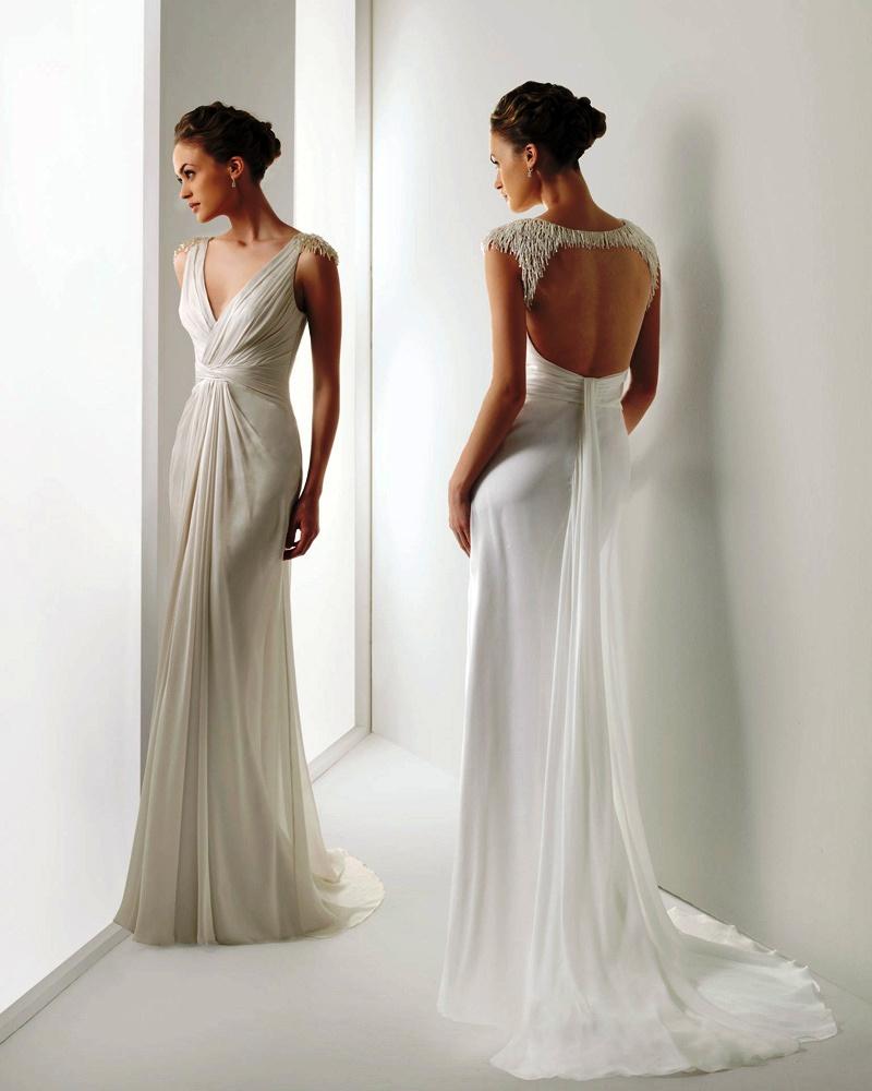 grecian wedding dresses photo - 1