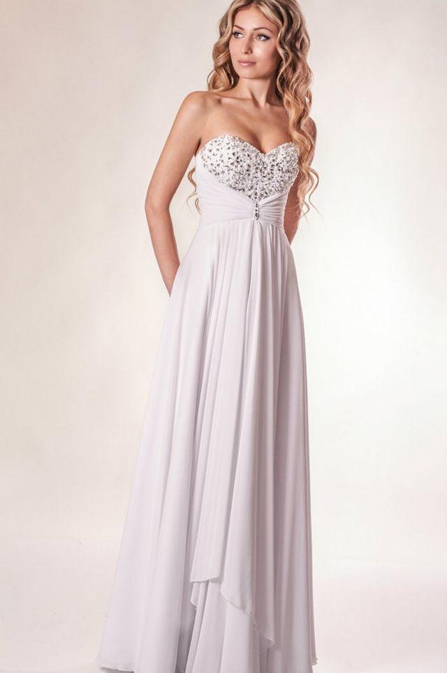 greek goddess style wedding dresses photo - 1