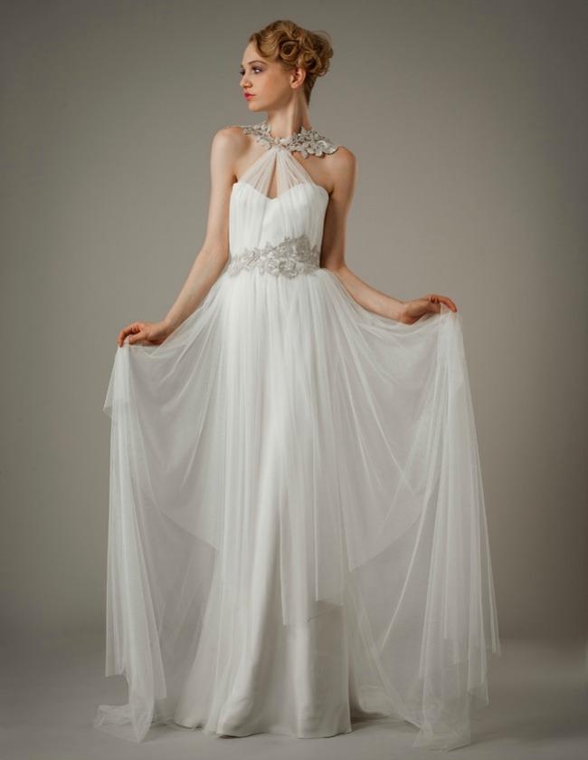 greek inspired wedding dresses photo - 1