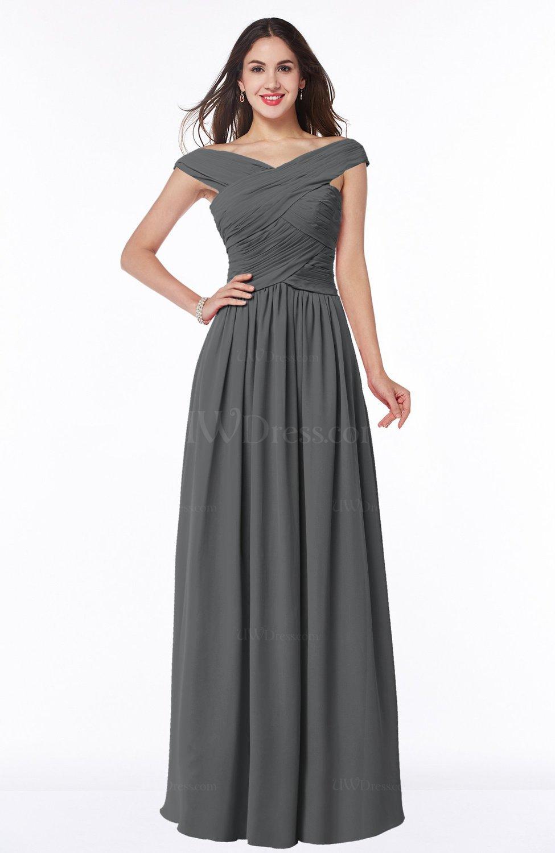 grey wedding dresses photo - 1