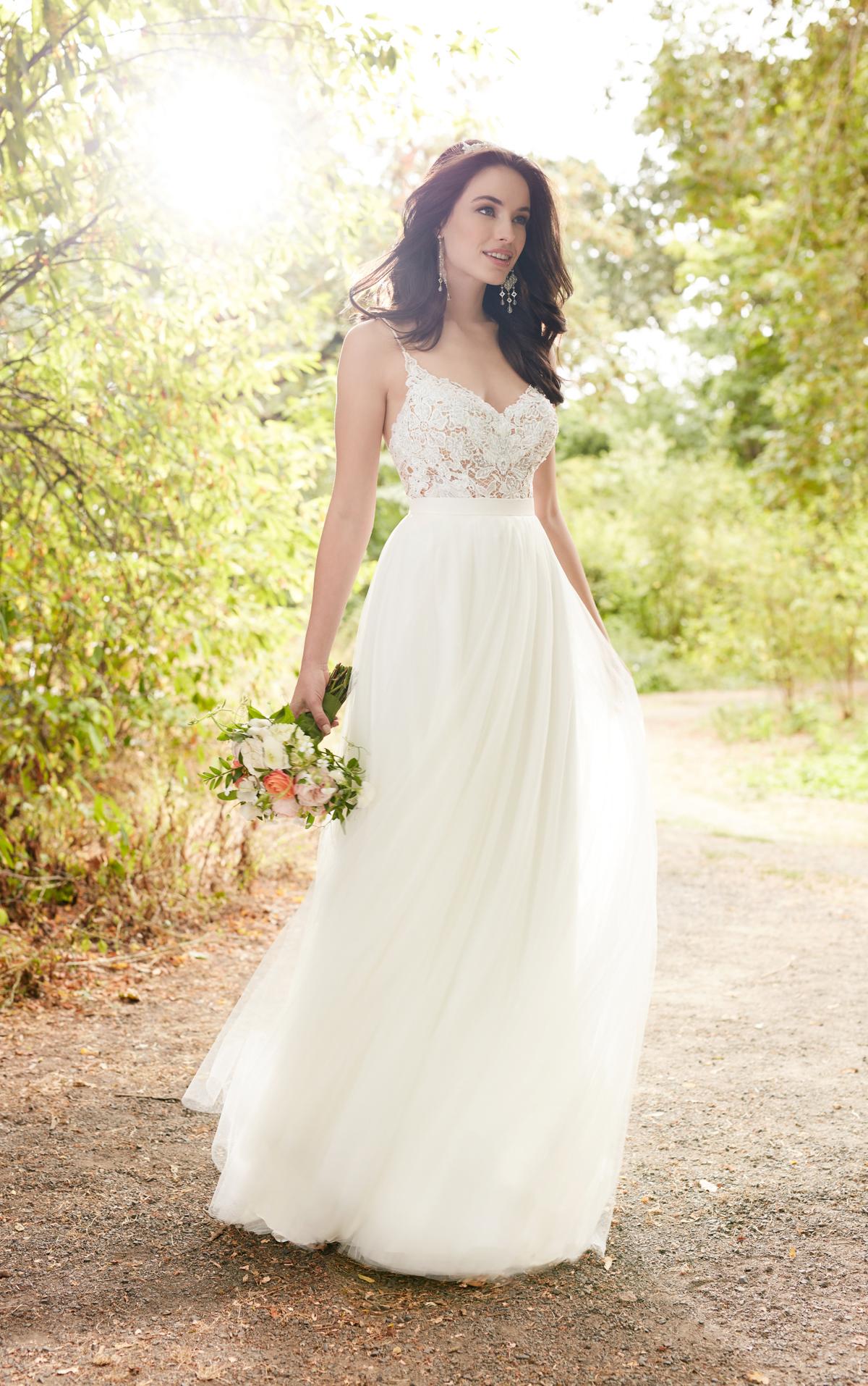 hippie style wedding dresses photo - 1