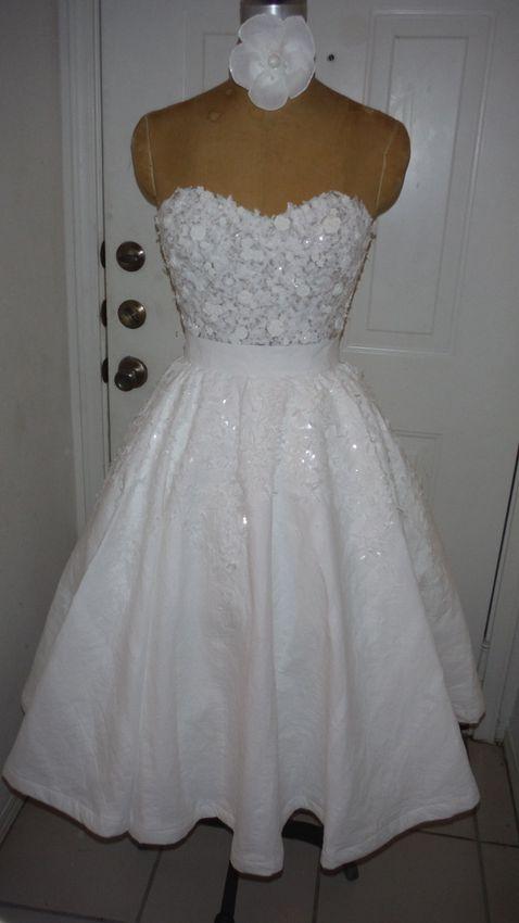 homemade wedding dresses photo - 1