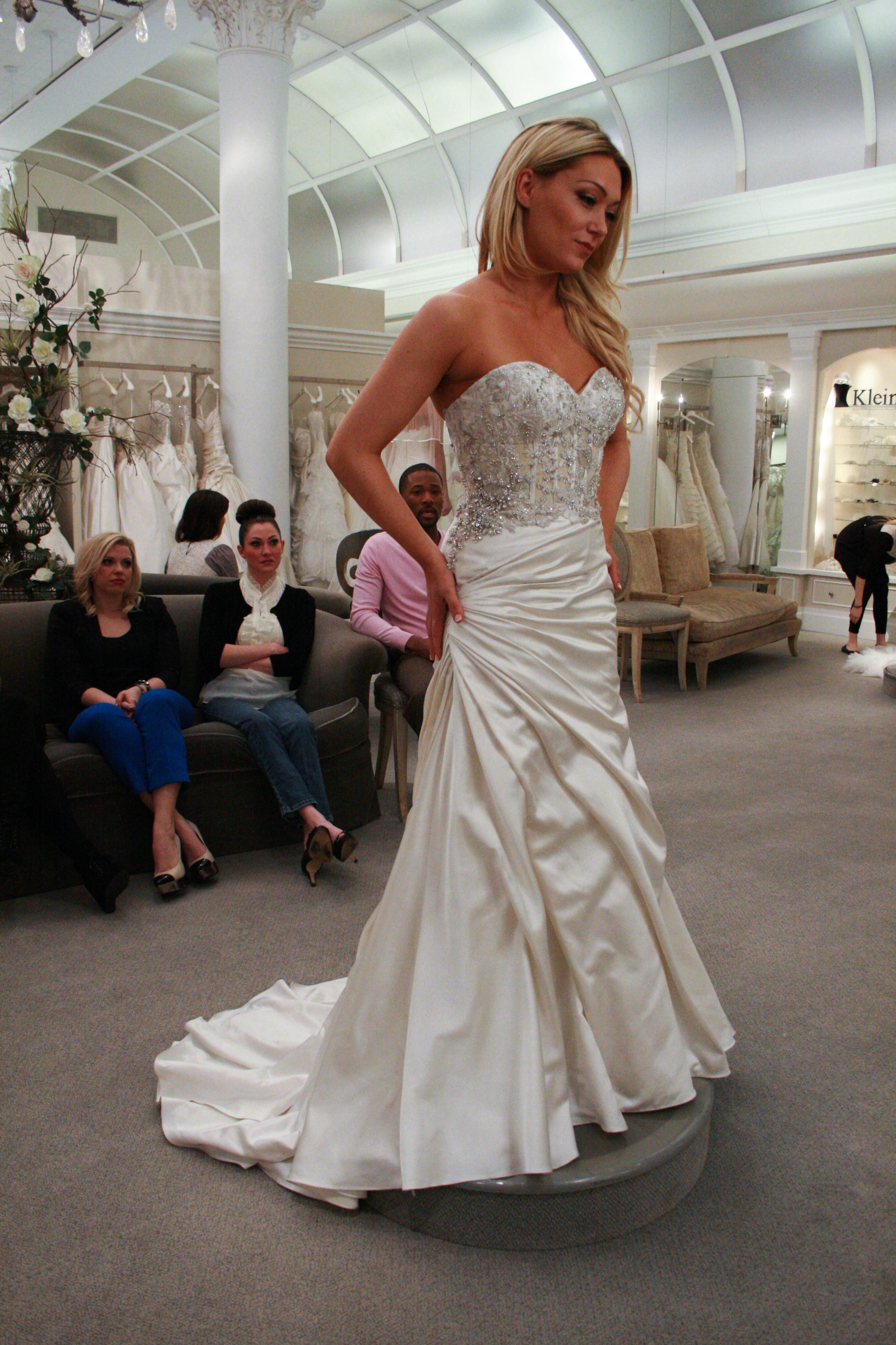 how much are lazaro wedding dresses photo - 1