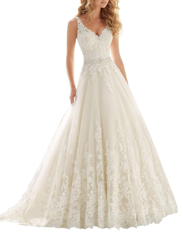 inexpensive beach wedding dresses photo - 1