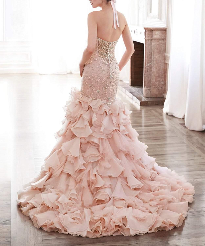 inexpensive lace wedding dresses photo - 1