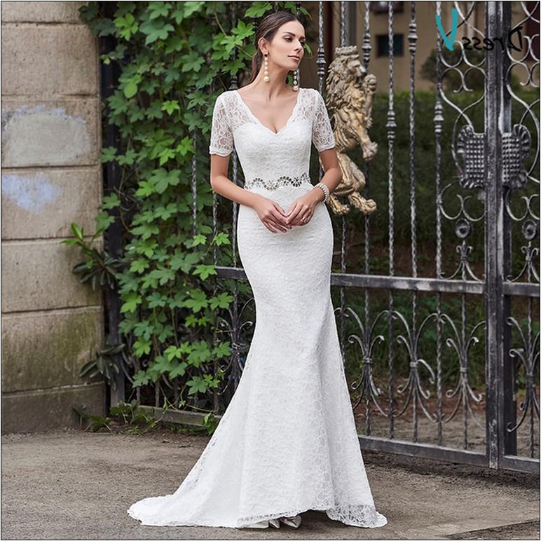 inexpensive wedding dresses near me photo - 1