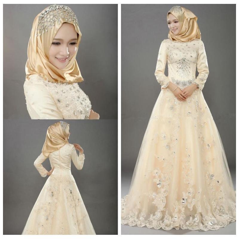 islamic wedding dresses for sale photo - 1
