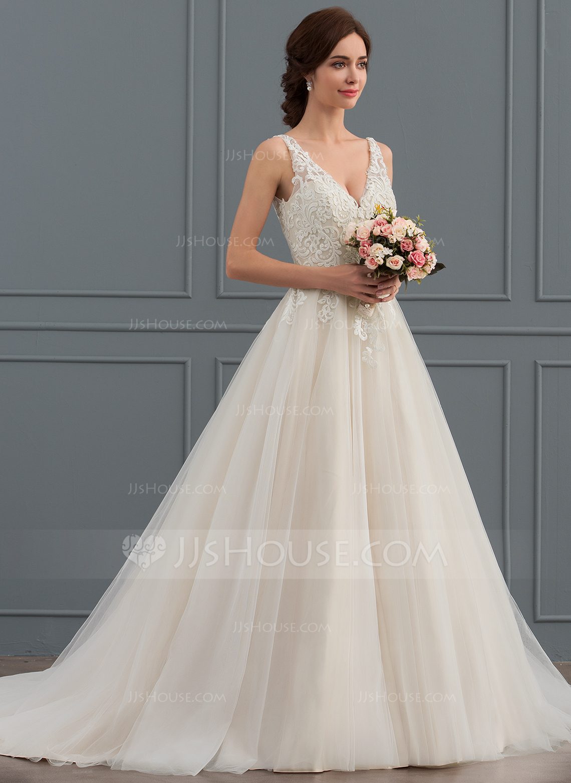 ivory colored wedding dresses photo - 1