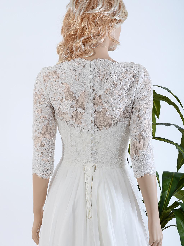 lace bolero for wedding dresses photo - 1