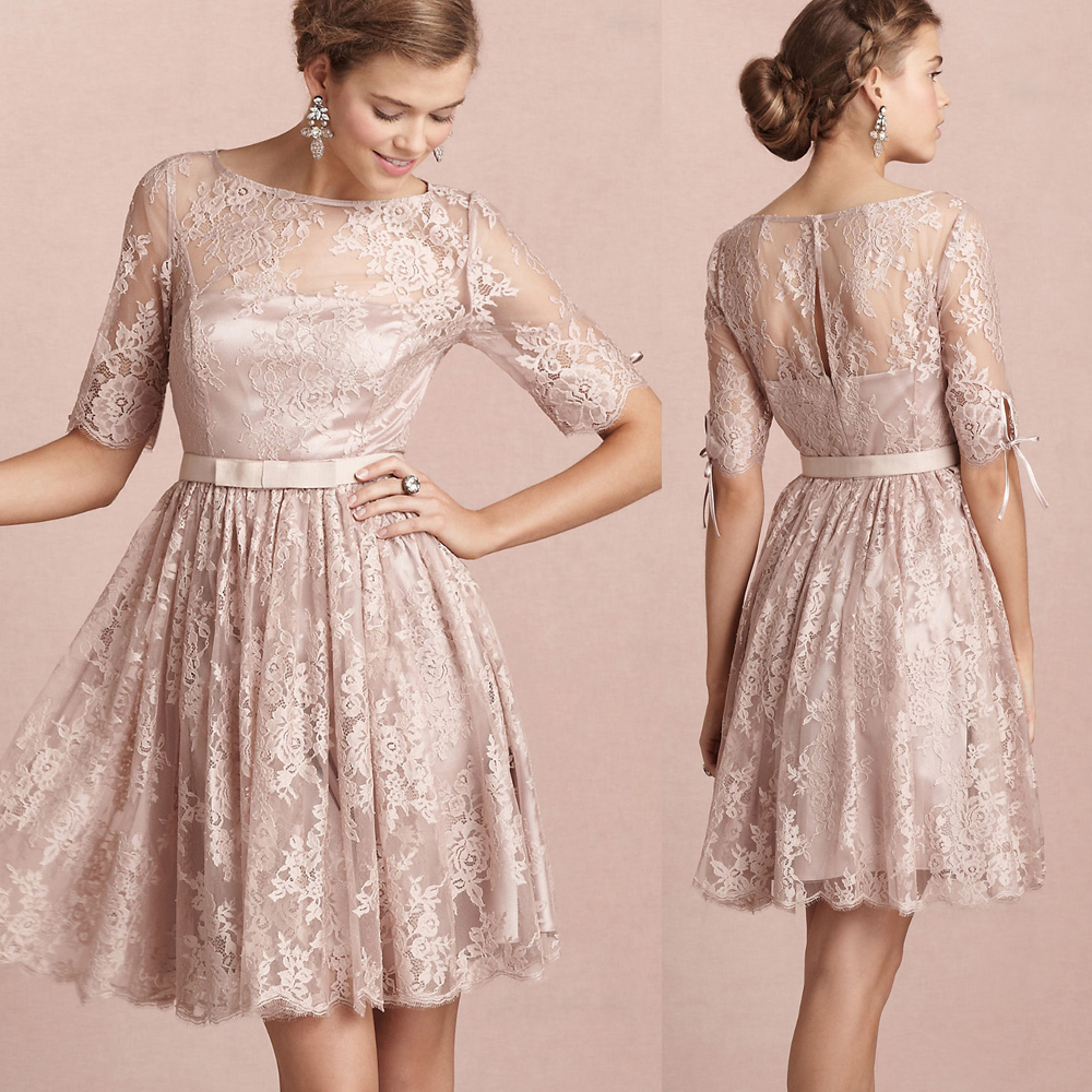 lace dresses for wedding guest photo - 1