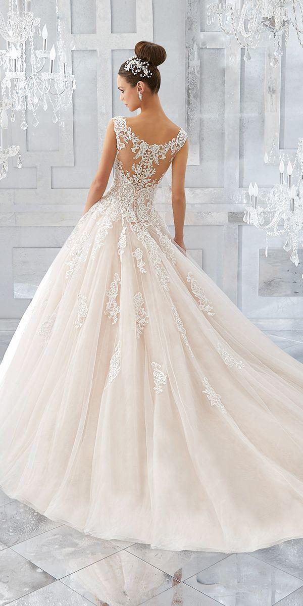 lace strapless wedding dresses photo - 1