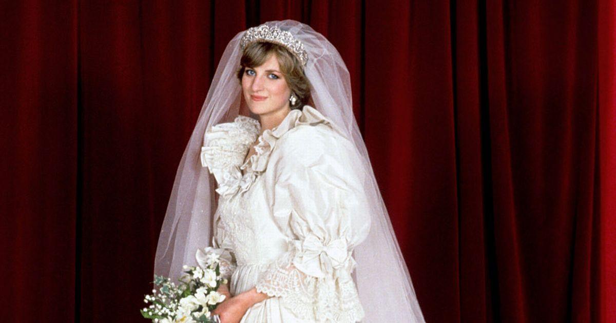 lady diana wedding dresses photo - 1