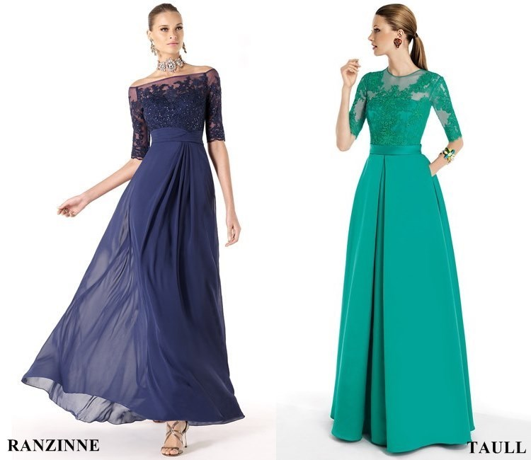 long flowy dresses for wedding guest photo - 1