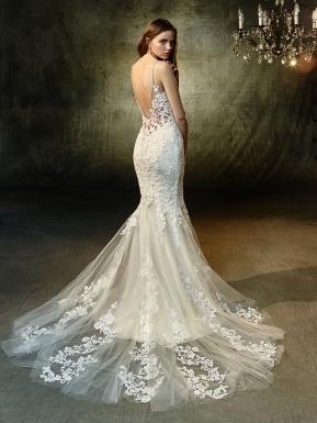 long sleeve dresses wedding photo - 1
