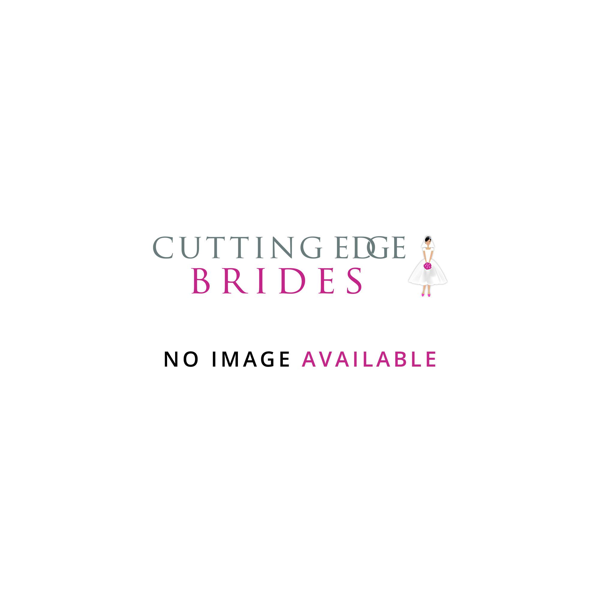 long sleeve tea length wedding dresses photo - 1