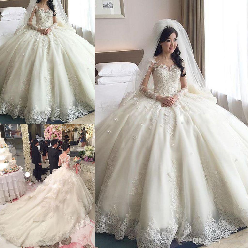 long sleeve wedding dresses 2016 photo - 1