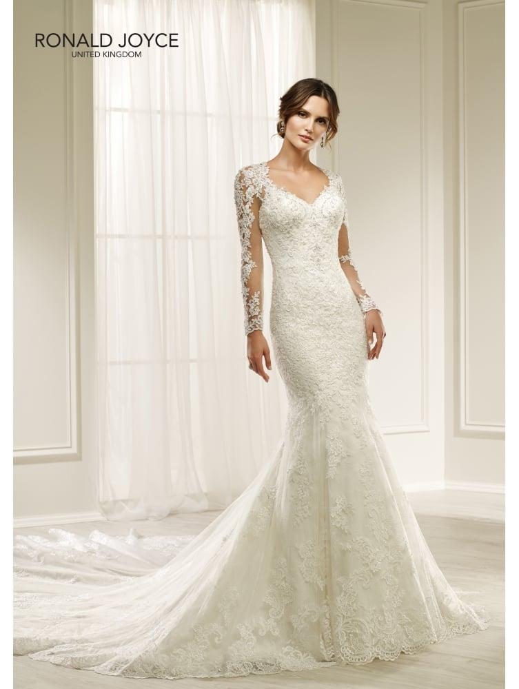 long sleeve wedding dresses for sale photo - 1