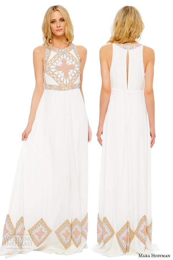 mara hoffman wedding dresses photo - 1