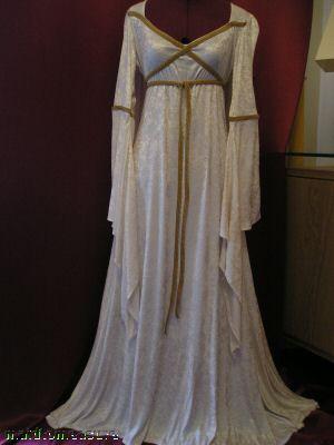 medieval times wedding dresses photo - 1
