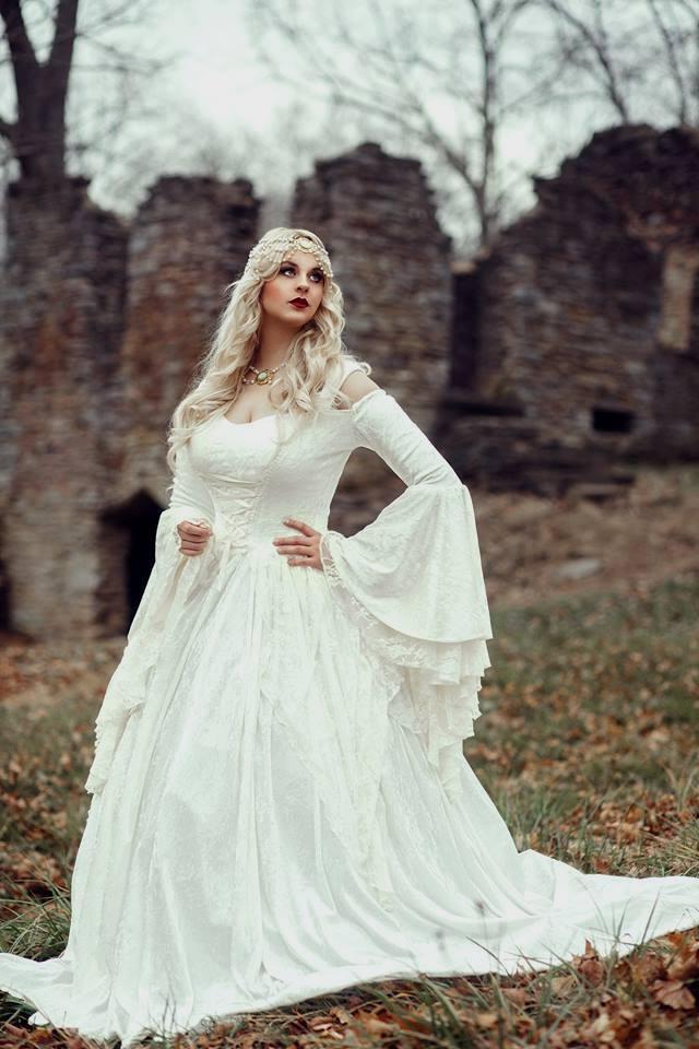 medieval wedding dresses photo - 1
