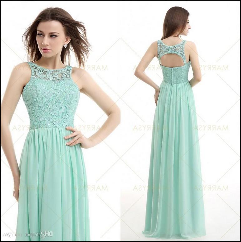 mint dresses for wedding photo - 1