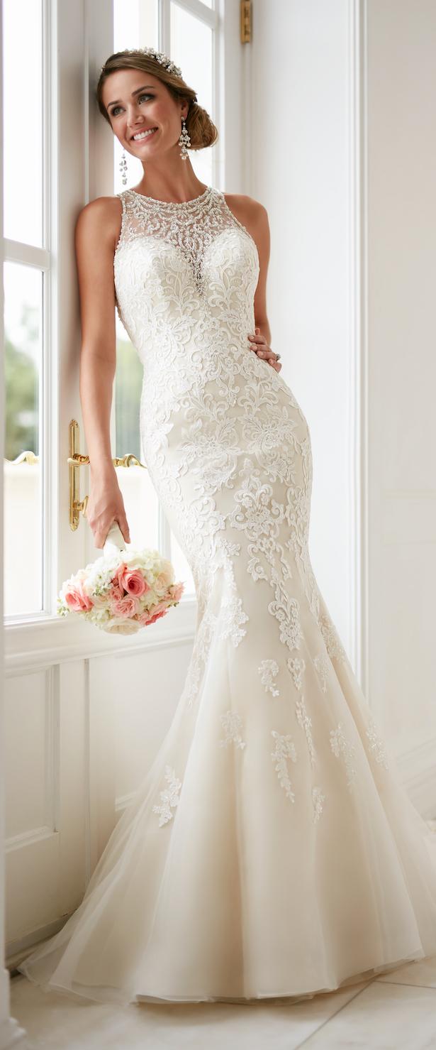 modern classics wedding dresses photo - 1