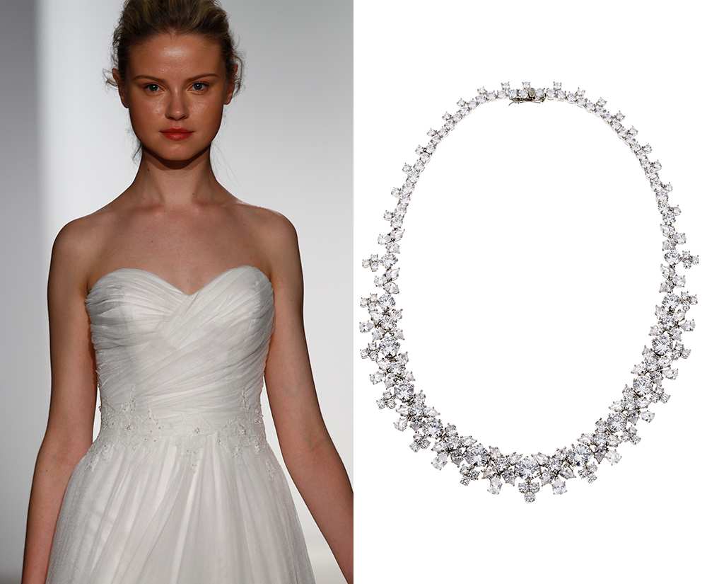 necklaces for wedding dresses photo - 1