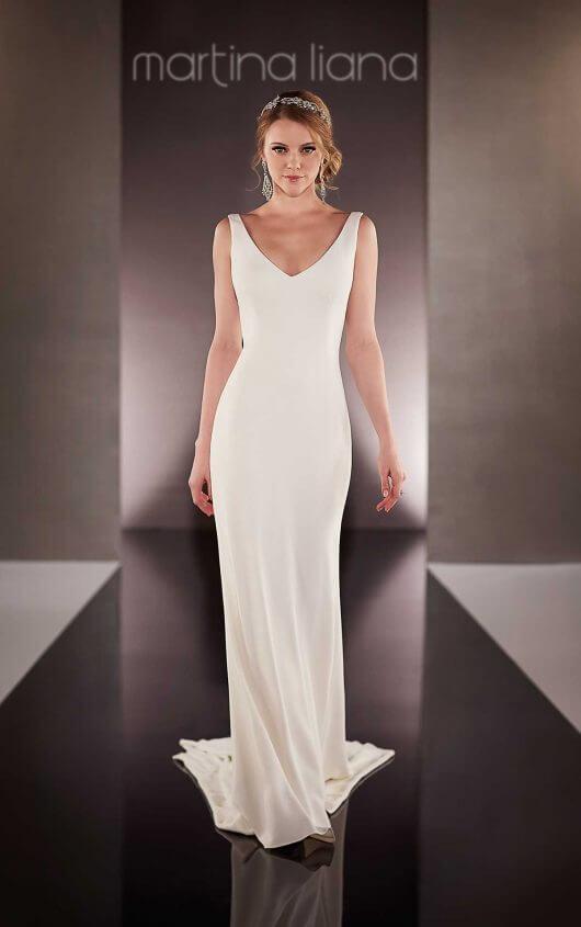 nice simple wedding dresses photo - 1