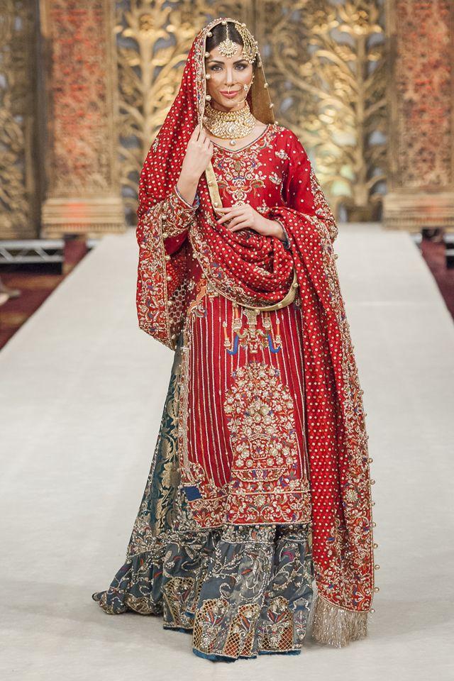 pakistani wedding dresses photo - 1