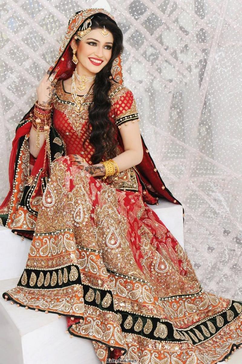 pakistani wedding dresses pictures photo - 1