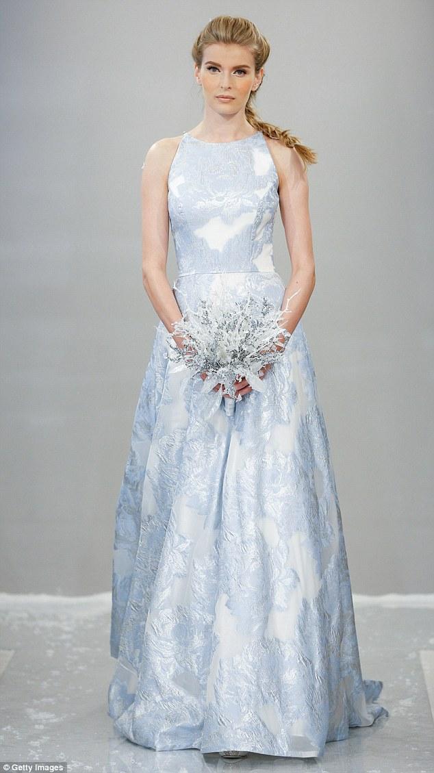 pastel wedding dresses photo - 1