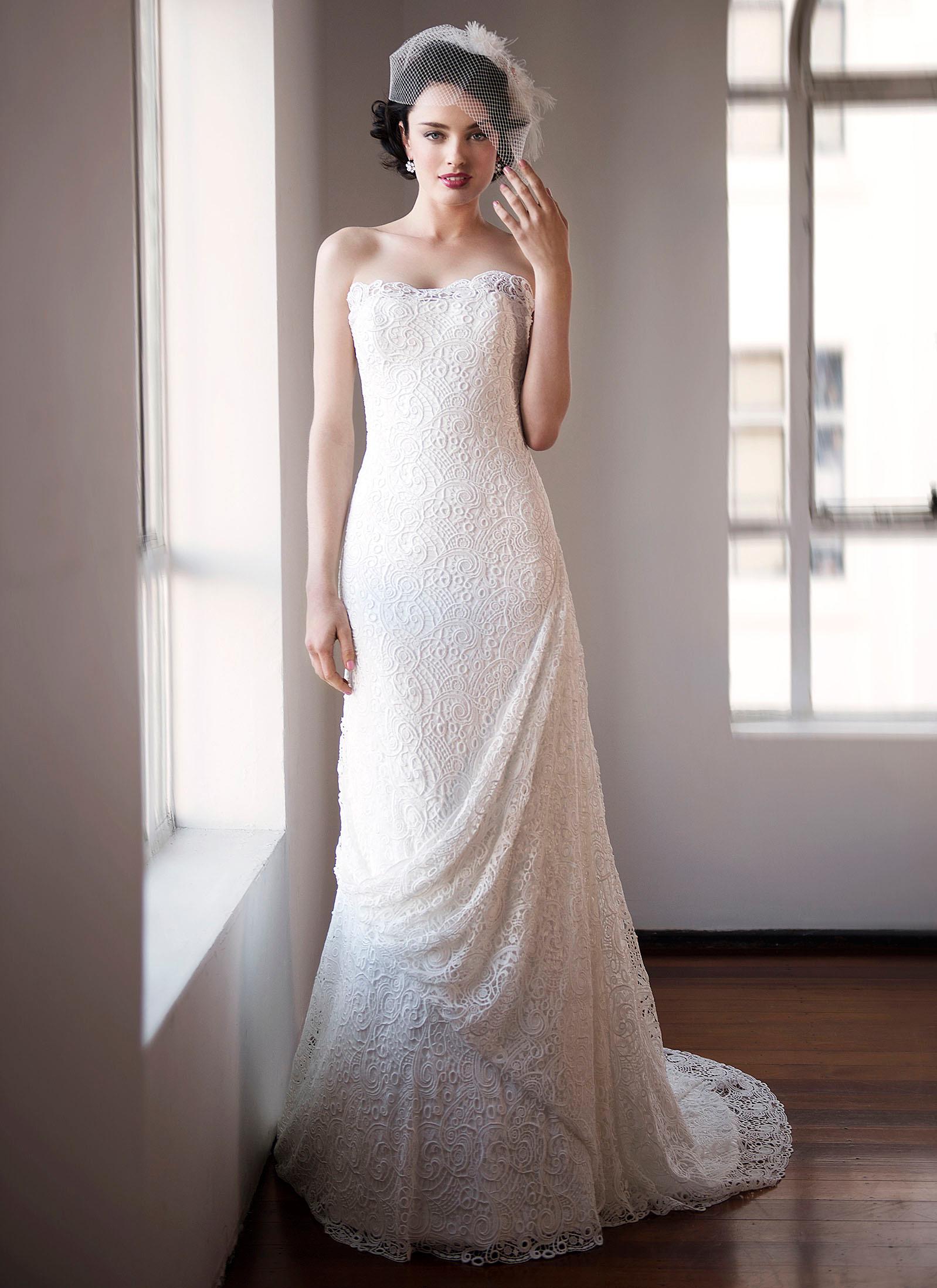 patterns wedding dresses photo - 1