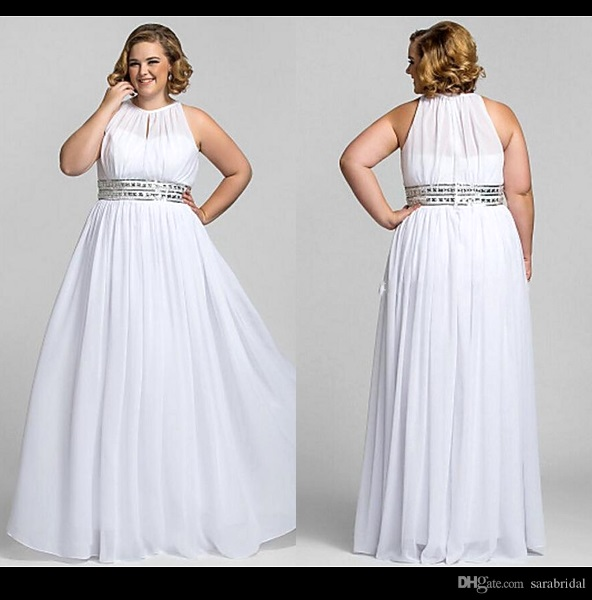plus dresses to wear to a wedding photo - 1