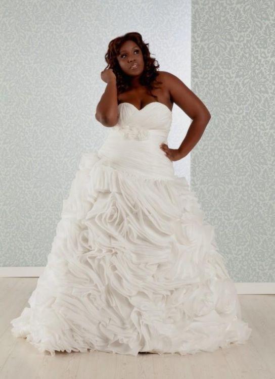 plus size cinderella wedding dresses photo - 1