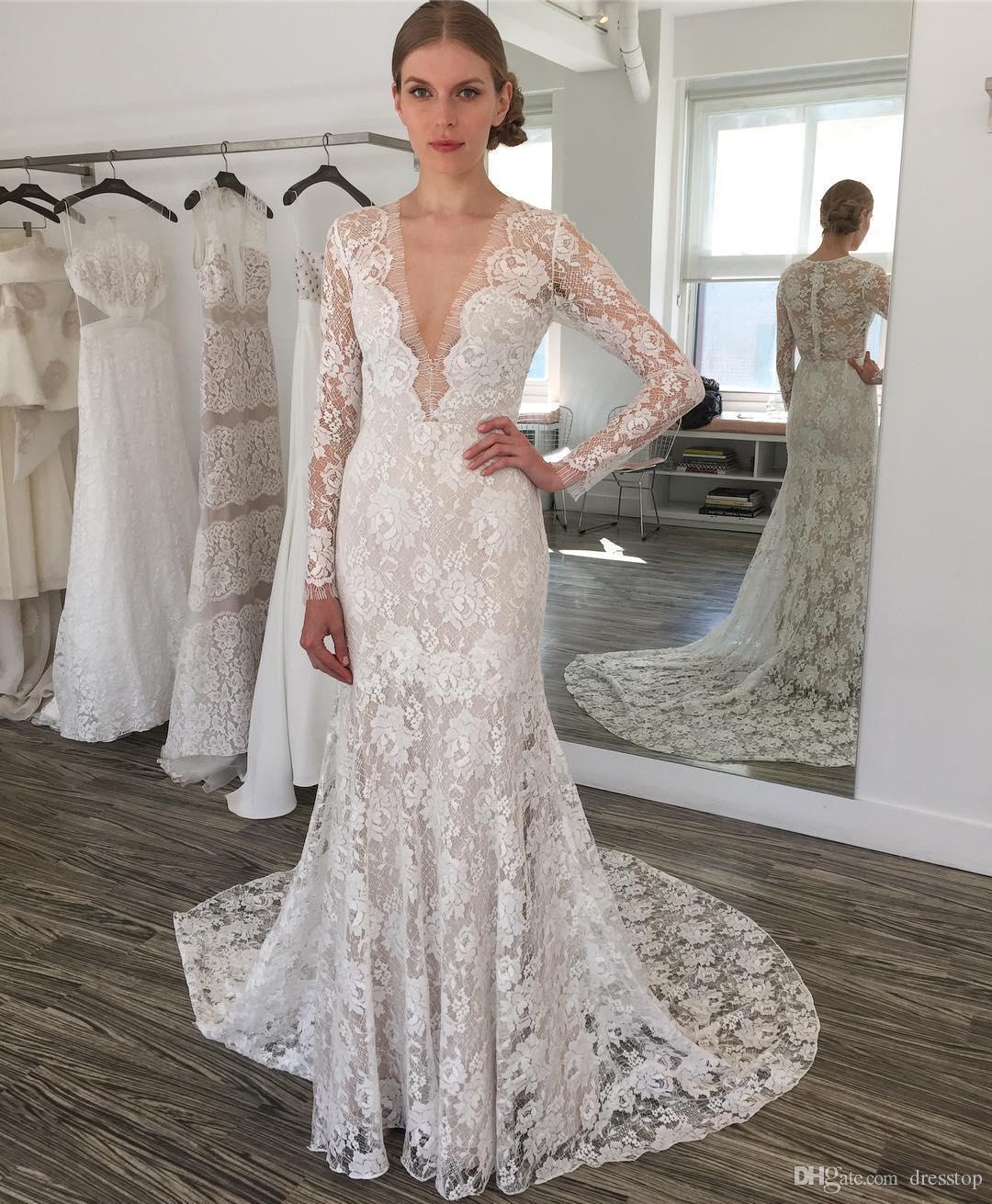 plus size short wedding dresses with sleeves photo - 1